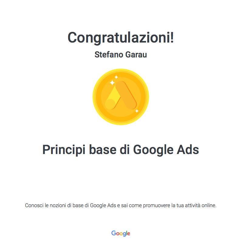 Certificazione-Garau-Stefano-webAL-Principi-base-di-Google-Ads